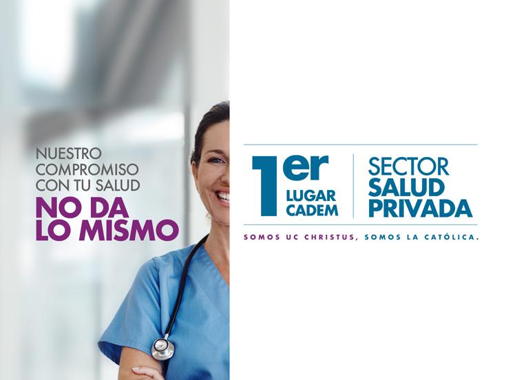 Primer lugar CADEM sector salud provada