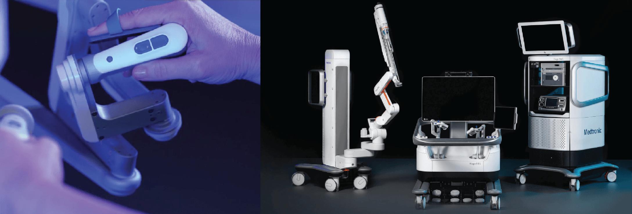 Equipo cirugía asistida por robot